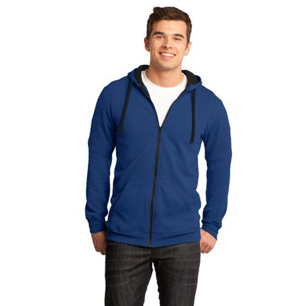 Personalized District (R) Young Men's Concert Fleece (TM) Full-Zip Hoodie
