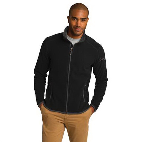 Printed Eddie Bauer (R) Full-Zip Vertical Fleece Jacket