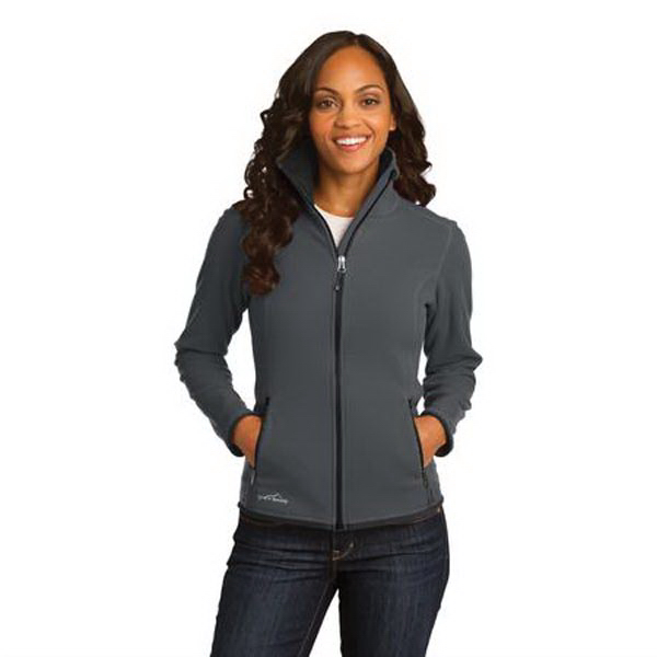 Promotional Eddie Bauer (R) Ladies' Full-Zip Vertical Fleece Jacket
