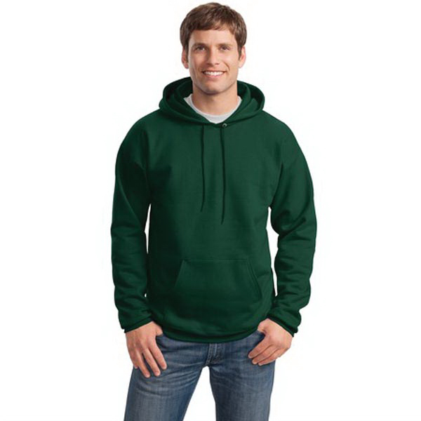 Printed Hanes® Ultimate Cotton® pullover hooded sweatshirt