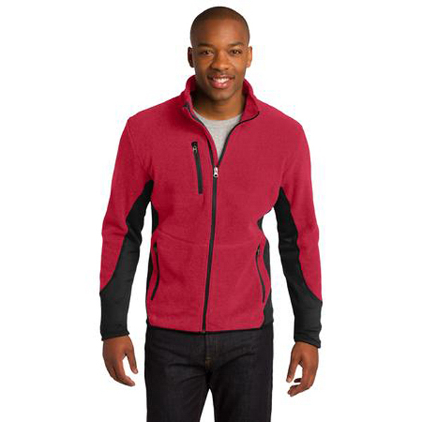 Imprinted Port Authority® R-Tek (R) Pro Fleece Full-Zip Jacket