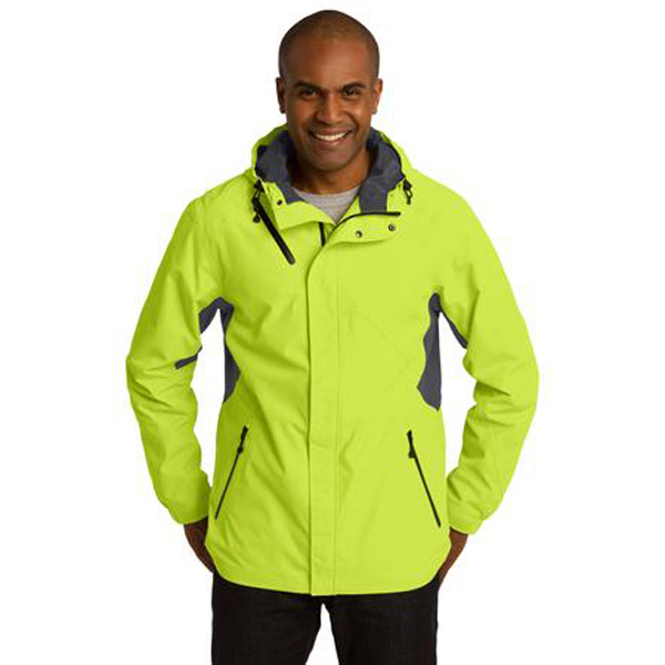 Imprinted Port Authority (R) Cascade Waterproof Jacket