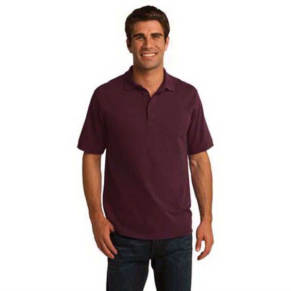 Personalized Port & Company (R) 50/50 Pique Polo