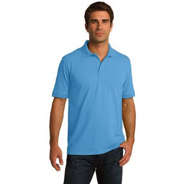 Imprinted Port & Company (R) 5.5 ounce Jersey Knit Polo