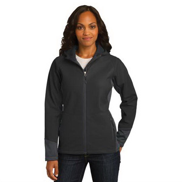 Customized Port Authority (R) Ladies' Vertical Soft Shell Jacket