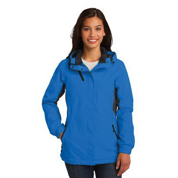 Custom Port Authority (R) Ladies' Cascade Waterproof Jacket