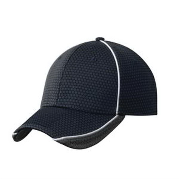Imprinted New Era (R) Hex Mesh Cap