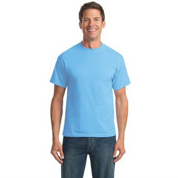 Promotional Port & Company® 50/50 cotton/poly t-shirt