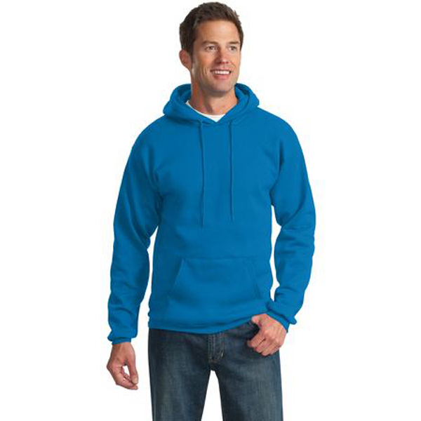 Custom Port & Company® classic pullover hooded sweatshirt