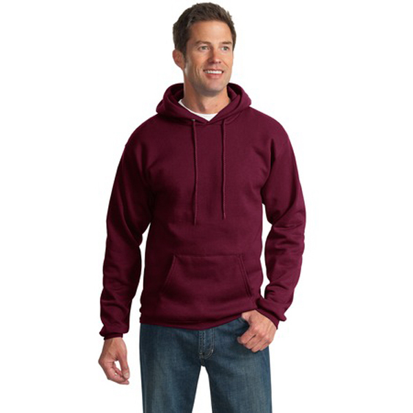 Imprinted Port & Company® ultimate pullover hooded sweatshirt