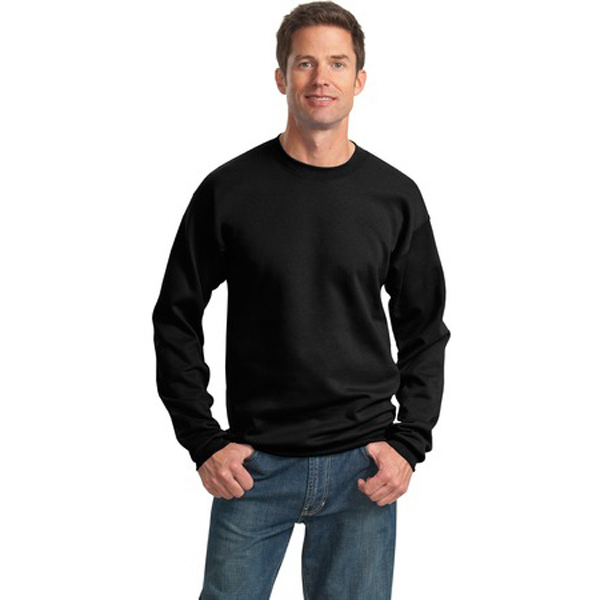 Printed Port & Company® ultimate crewneck sweatshirt