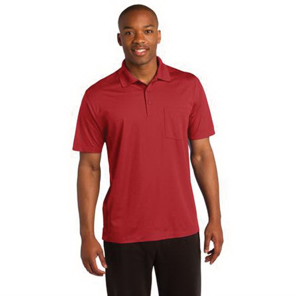 Promotional Sport-Tek (R) Micropique Sport-Wick (R) Pocket Polo