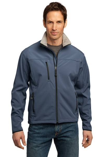Imprinted Port Authority® Glacier® soft shell jacket