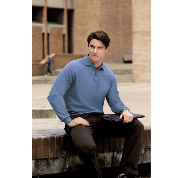 Imprinted Port Authority ® Rapid Dry long sleeve sport shirt