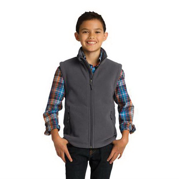 Printed Port Authority (R) Youth Value Fleece Vest