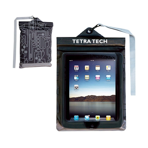 Personalized Travelon (R) waterproof iPad pouch