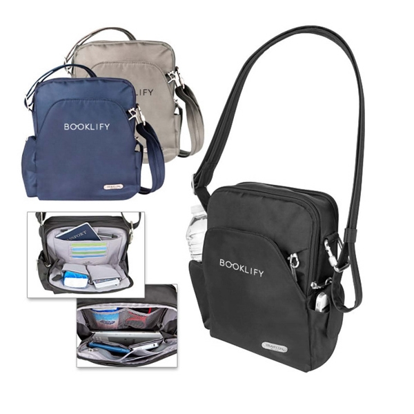 Printed Travelon (R) anti-theft travel bag