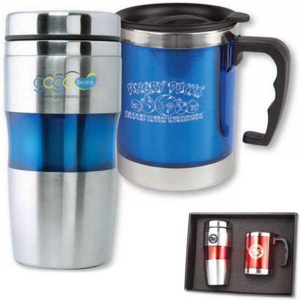 Promotional The Belford Hot And Cold Drinkware Gift Set