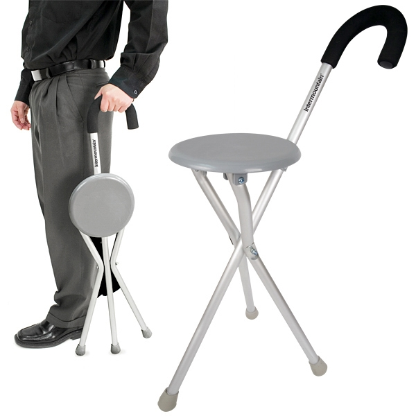 Printed Travelon (R) Walking Seat and Cane in One