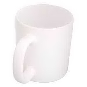 "Promotional Two-Tone ""C"" Handle Mug"