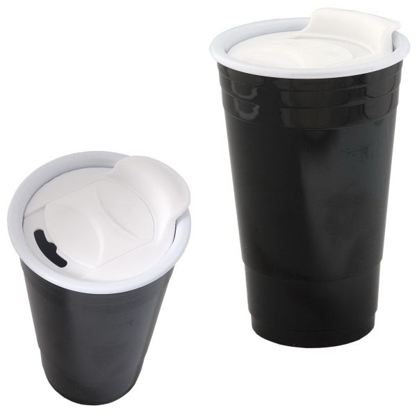 Promotional 400 ml (13.5 oz) Acrylic Tumbler with Slider Cap