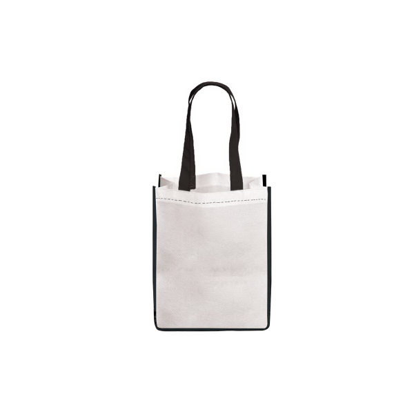 Printed E-Z Import (TM) Small Sublimated Non Woven Tote