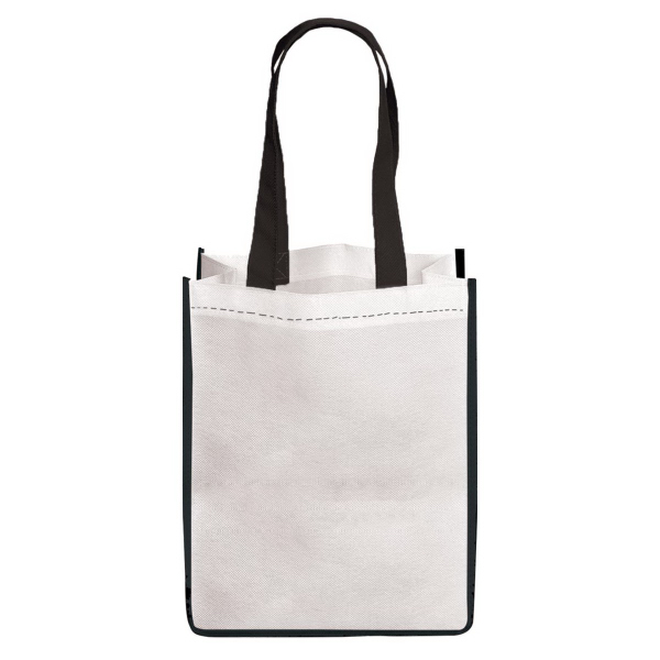 Imprinted E-Z Import (TM) Large Sublimated Non Woven Tote