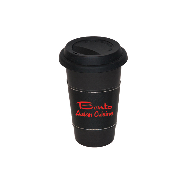 Promotional 11 oz. Matte White Medi Mug With Sleeve