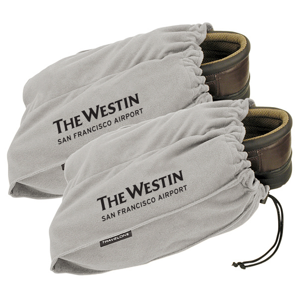 Printed Travelon (R) Set of 2 Shoe Bags