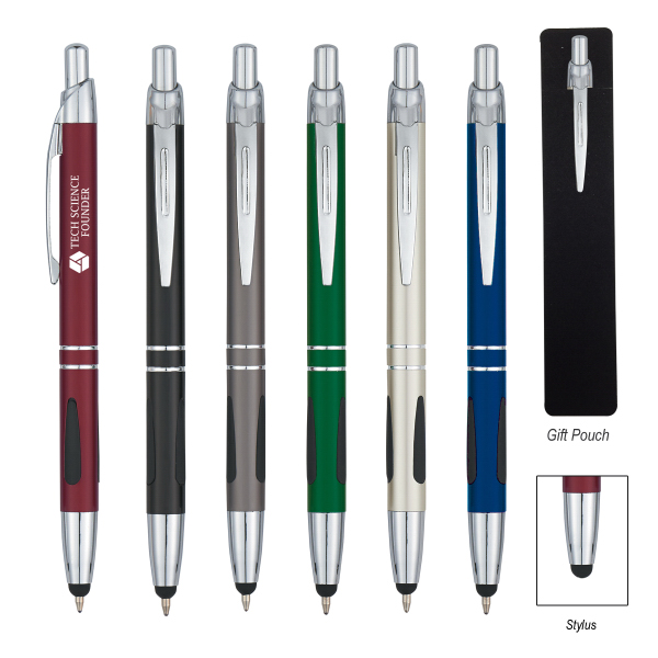 Promotional Aluminum Pen with Stylus