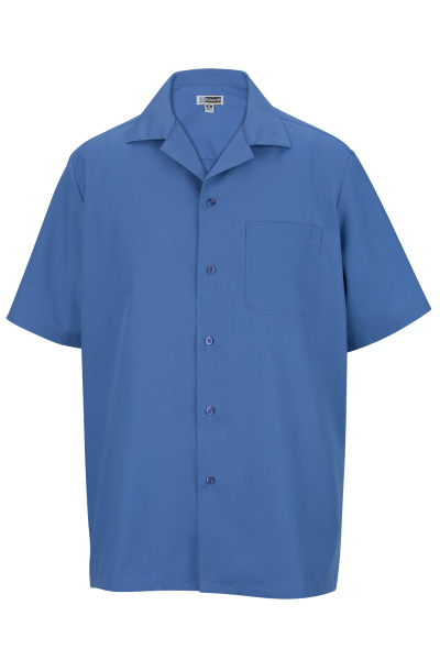 Custom Easy Care Poplin Camp Shirt