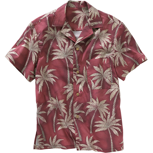 Promotional Tropical Palm Camp Shirt
