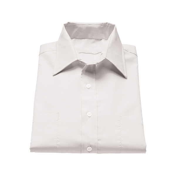 Custom Men's Traditional Short Sleeve Broadcloth Shirt