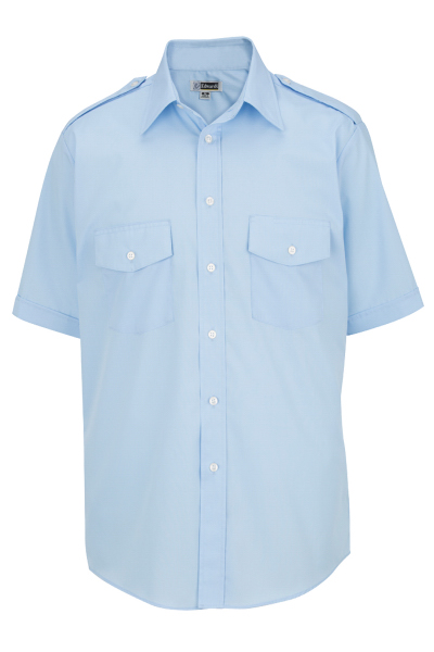 Imprinted Men's Short Sleeve Navigator Shirt