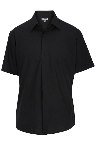 Promotional Men's Short Sleeve Cafe Shirt