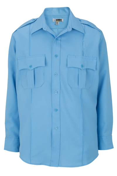Imprinted Security Long Sleeve Shirt 100% Polyester
