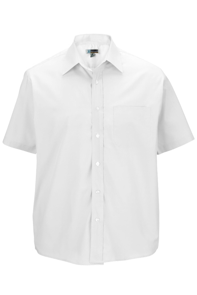 Promotional Men's Short Sleeve Value Broadcloth Shirt