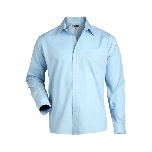 Promotional Men's Long Sleeve Value Broadcloth Shirt