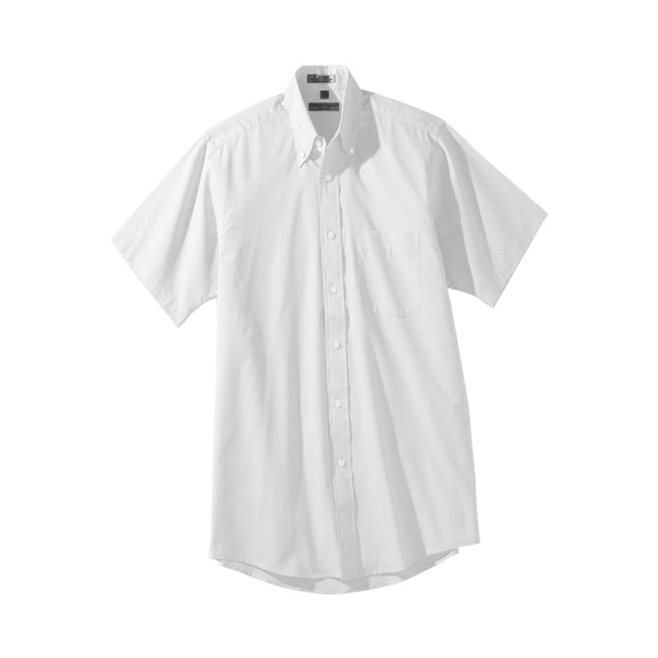 Promotional Men's Short Sleeve Pinpoint Oxford Shirt