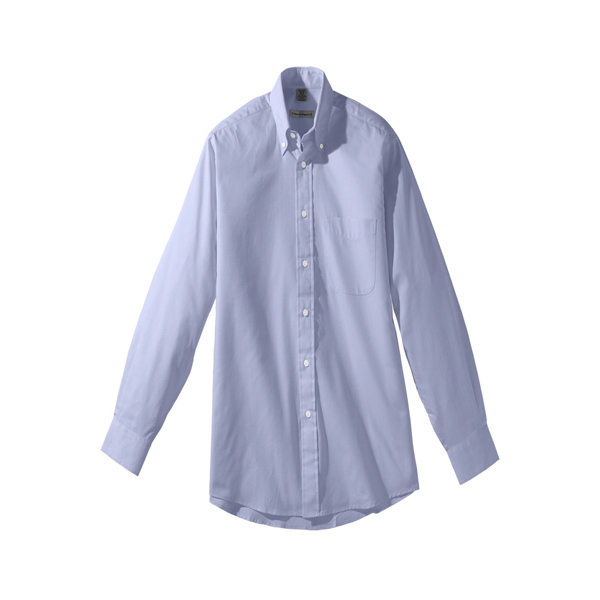 Promotional Men's Long Sleeve Pinpoint Oxford Shirt