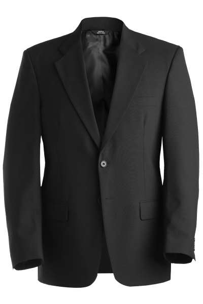 Personalized Men's Single Breasted Wool Blend Suit Coat