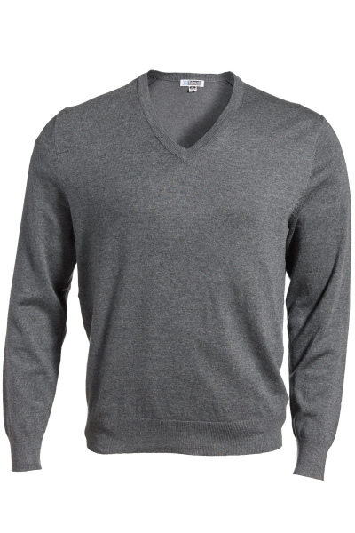 Personalized V-Neck Fine Gauge Sweater
