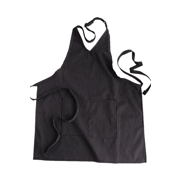 Personalized V-Neck Apron with Pockets