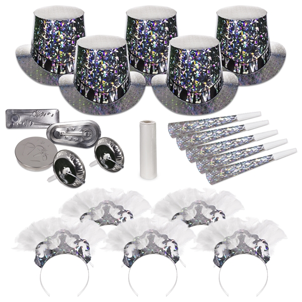 Promotional Sterling Silver New Year's Eve Kit for 10