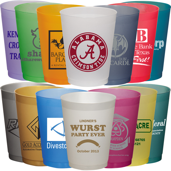 Customized FROSTED CUP 16