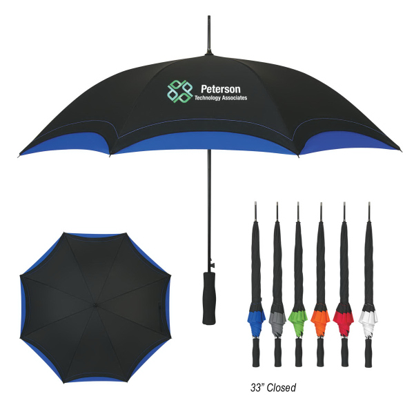"Customized 46"" Arc Accent Umbrella"