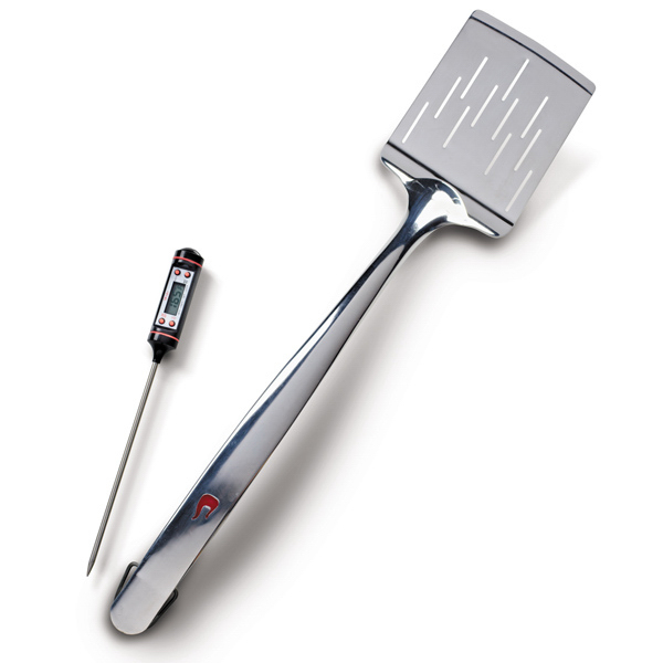 Custom 2-in-1 Spatula Meat Thermometer Combo