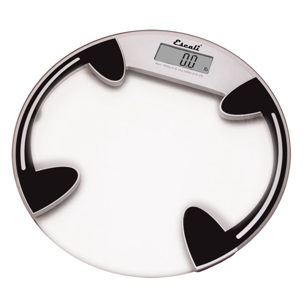 Promotional Clear Glass Round Bath Scale