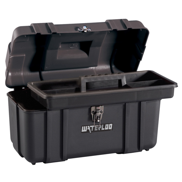 "Imprinted 17"" Tool Box with Tote"