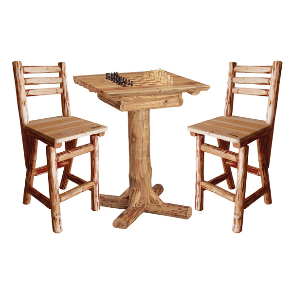 Imprinted Game Table and Chairs